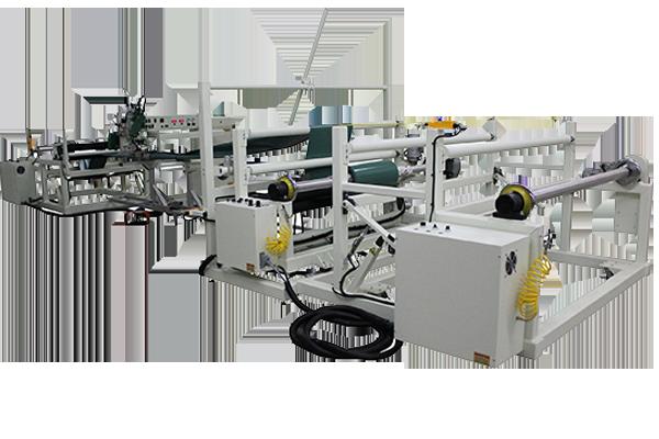 Calibration tube line welding machine
