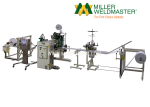 Filter Welding Machine Side View