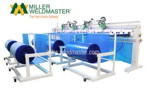 M100 Pool Solar Cover Welding Machine