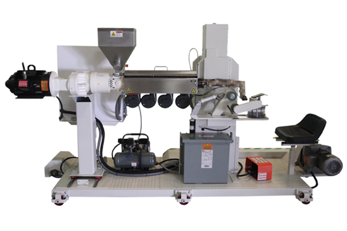 Picture of Extruder Geomembrane Welding Machine
