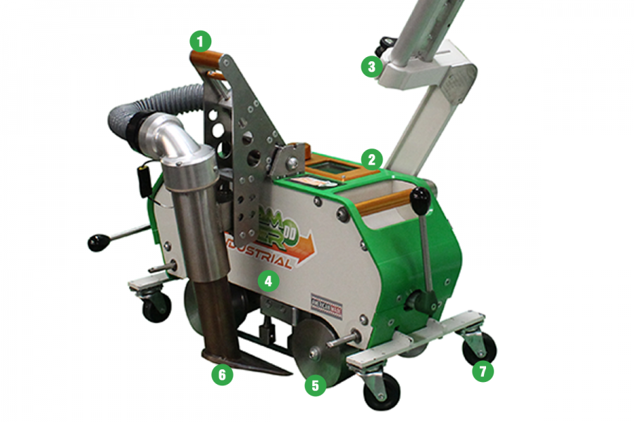 Seamrover DD INDUSTRIAL Hot Air Welding Machine Features and Benefits