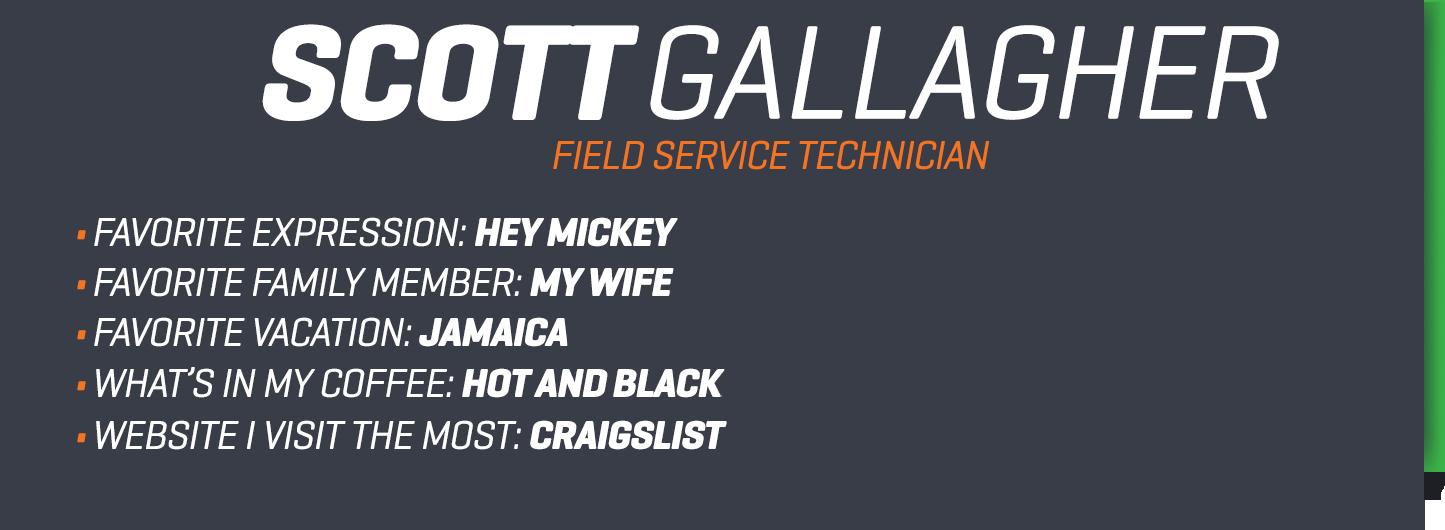 Scott Gallagher bio