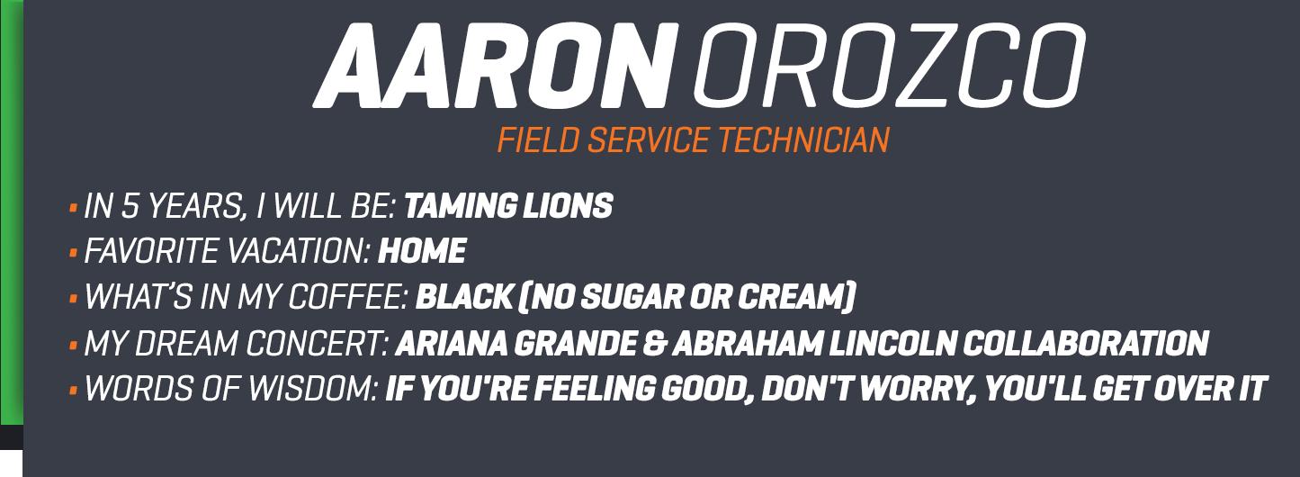 Aaron bio