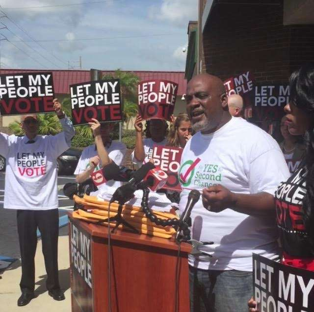 Florida is one of three states where formerly convicted felons must petition before a clemency board to have their civil rights restored. Photo: Renata Sago.