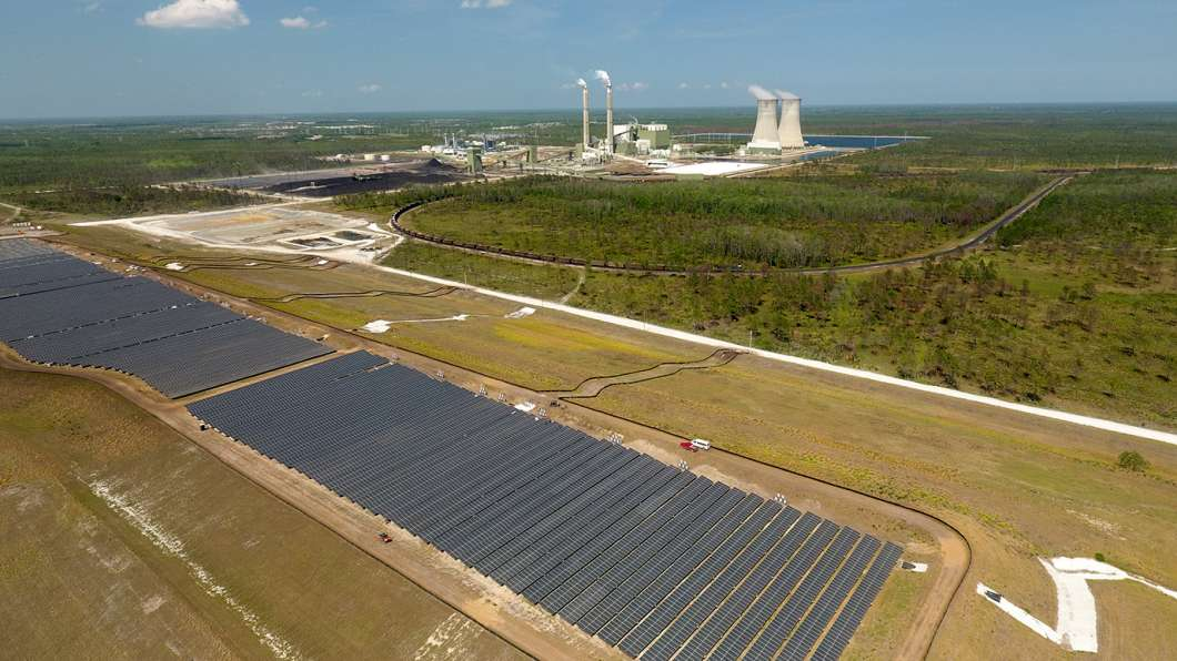 Solar farm. Photo from OUC.com