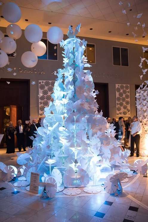 Image: Previous Festival of Trees,omart.org