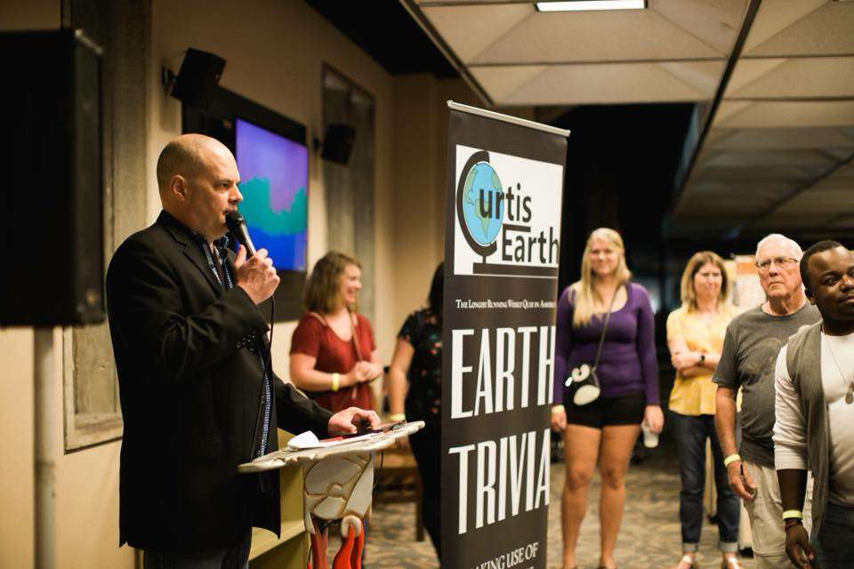 "Curtis Earth hosts ""Earth Trivia,"" making use of useless knowledge. Photo: Curtis Earth / Facebook"