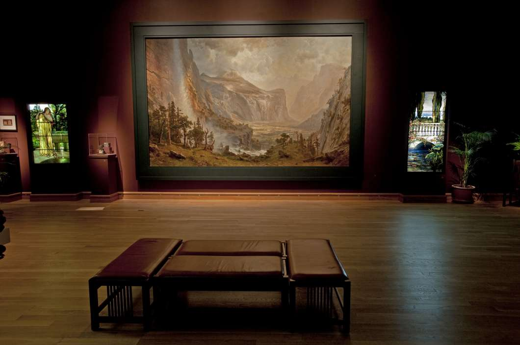 The Morse Museum's new Domes of the Yosemite exhibition.
