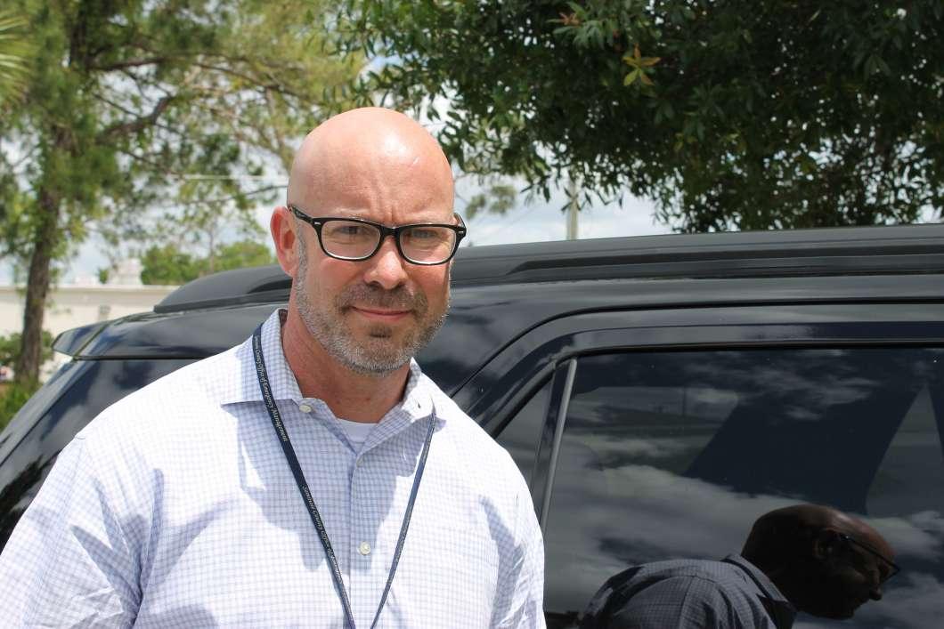 Seminole County Emergency Manager Alan Harris. Photo: Matthew Peddie, WMFE