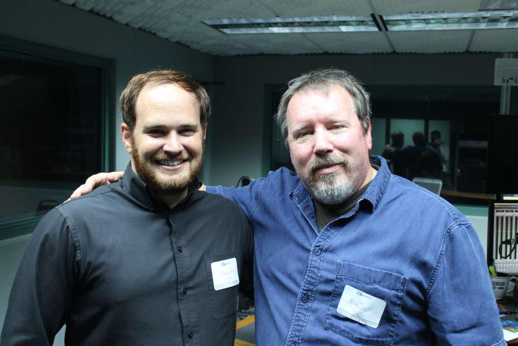 Ben Kramer (l), and Brian Turner. Photo: Matthew Peddie, WMFE