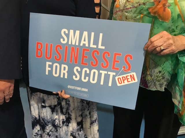 Small businesses have flourished under Scott according to NFIB. Photo: Danielle Prieur