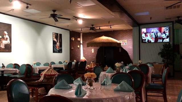 Selam Ethiopian & Eritrean Cuisine interior. Photo courtesy of Orlando Restaurant Guide