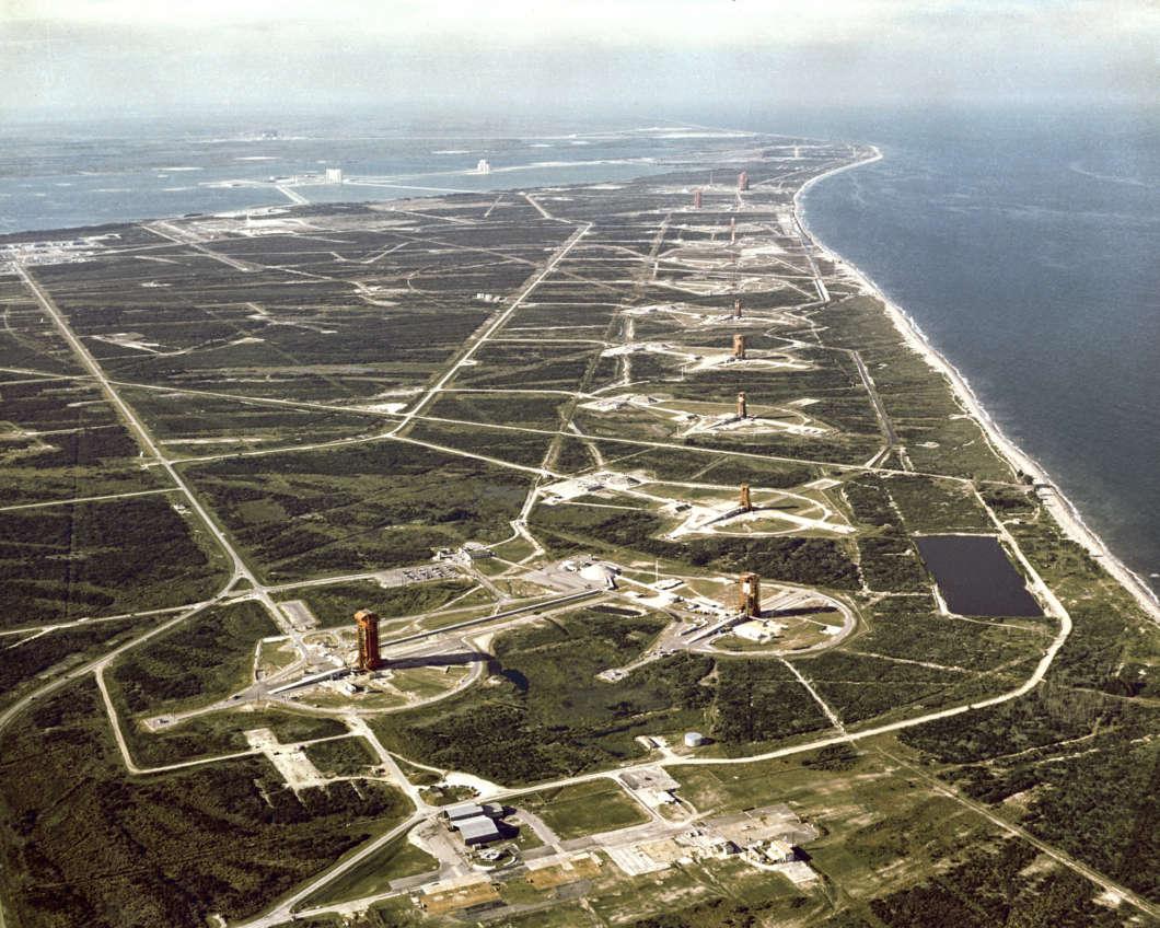 Launch pads along Florida's Space Coast. Photo: NASA