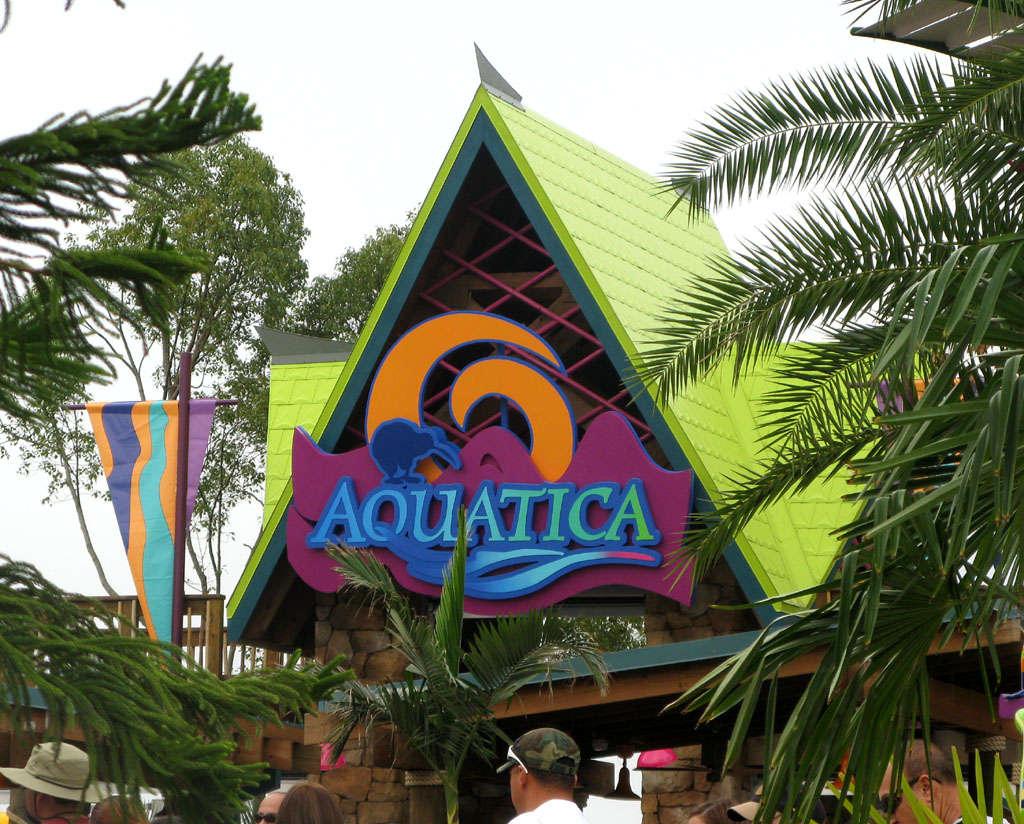 Aquatica was designated as an autism-friendly water park. (WillMcC, Wikimedia)