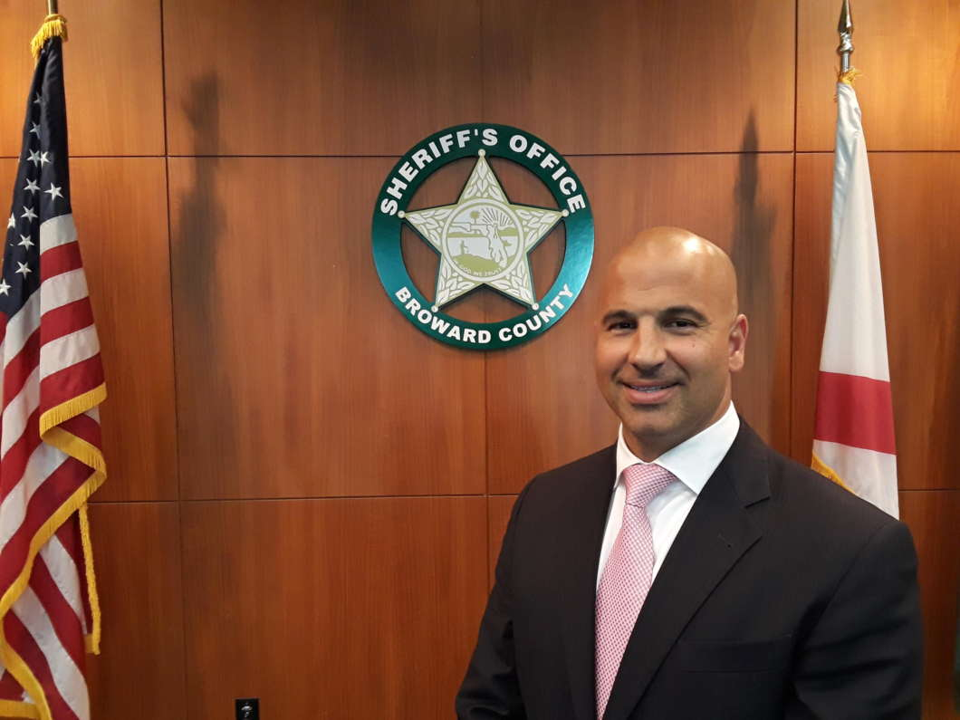 Captain Michael Riggio was the number two for counterterrorism for the New York City Police Department before being hired away by the Broward Sheriff's Office. CREDIT DANIEL RIVERO / WLRN