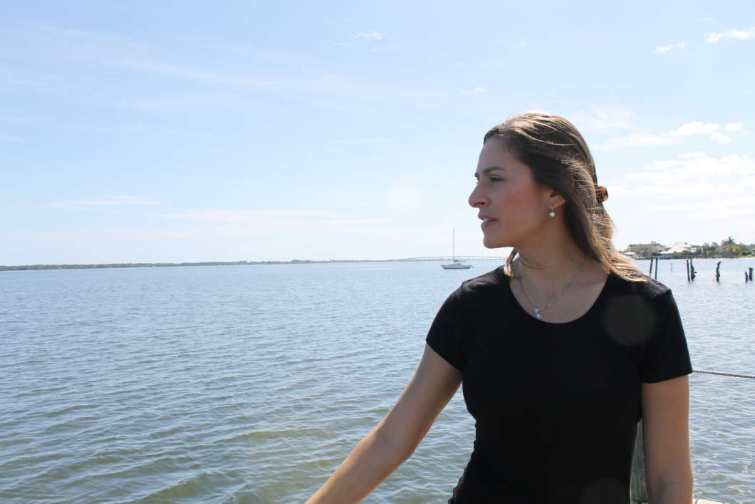 Florida Today editor Isadora Rangel worries the Indian River Lagoon will be overlooked in the legislative session. Photo by Amy Green