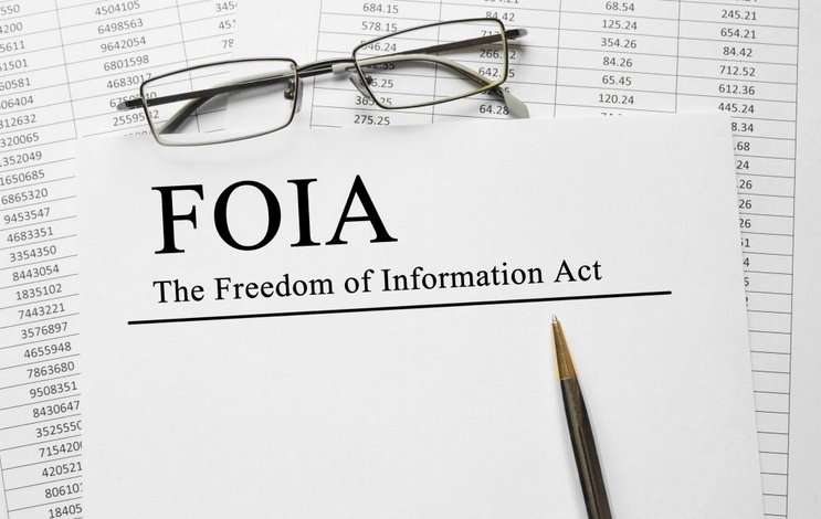Image: Freedom of Information Act , FOIA