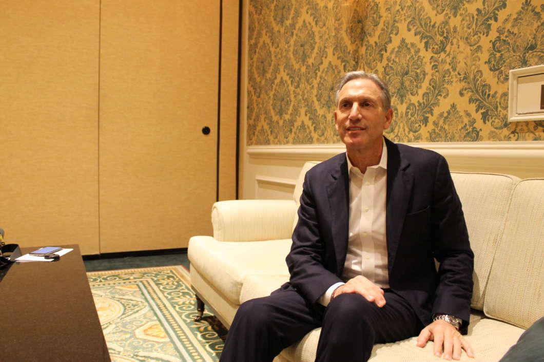 Howard Schultz. Photo: Matthew Peddie, WMFE