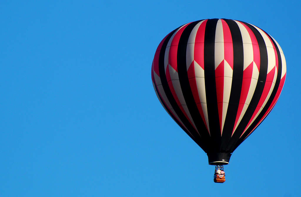 The balloon pictured above is not the balloon stolen from Indiana. Photo by Rona Proudfoot/flickr