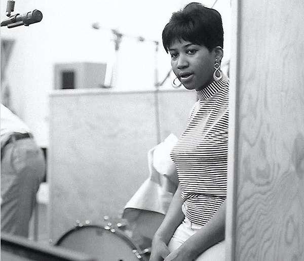 Photo by Chuck Stewart, Aretha Franklin, 1967