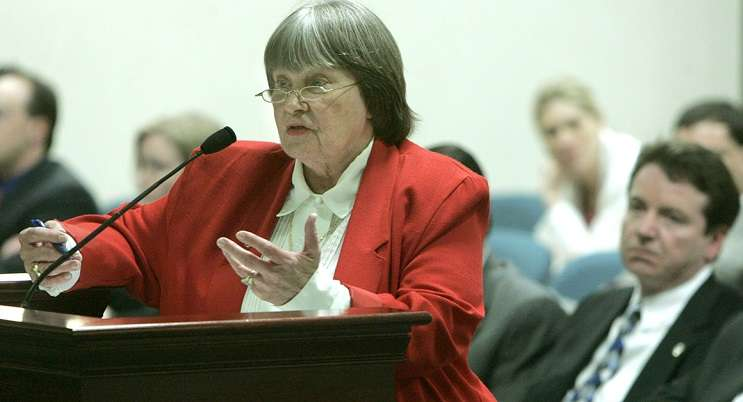 Image: NRA lobbyist Marion Hammer. | AP Photo/Phil Coale