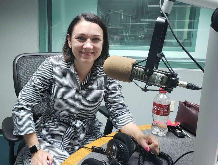 NPR White House correspondent Tamara Keith. Photo: Matthew Peddie, WMFE