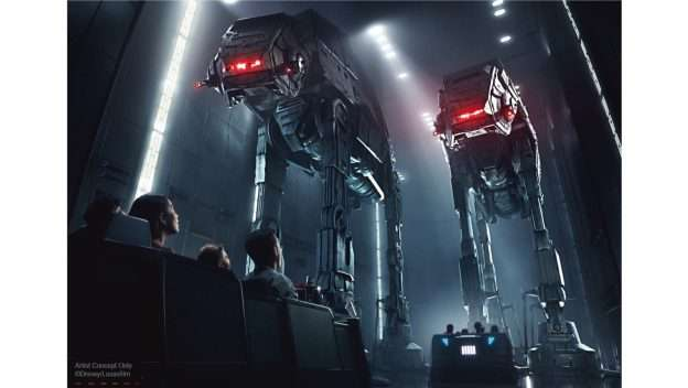 The attraction Star Wars: Rise of the Resistance will open December 5 in Orlando. (photo courtesy Disney)