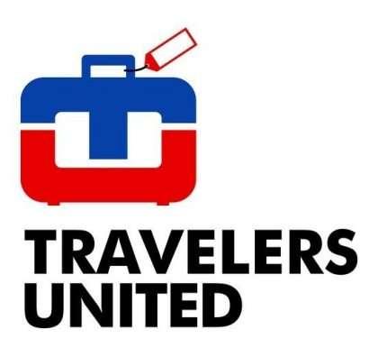 Image: Travelers United logo, www.travelersunited.org