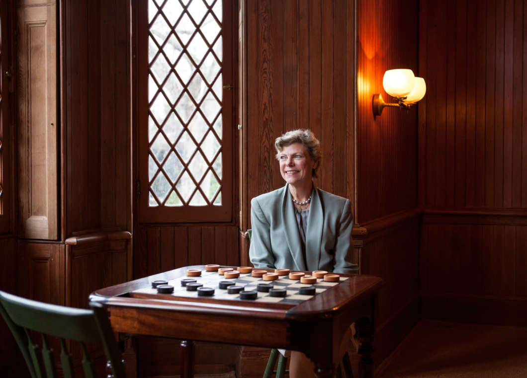 Cokie Roberts is one of NPR's most recognizable voices and considered one of a handful of pioneering women journalists — along with Nina Totenberg, Linda Wertheimer and Susan Stamberg — who helped shape the public broadcaster's sound and culture. Ariel Zambelich/NPR