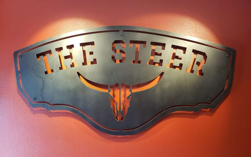 The Steer is located in Orlando and celebrates the pioneers of Orange County. Photo: The Steer website