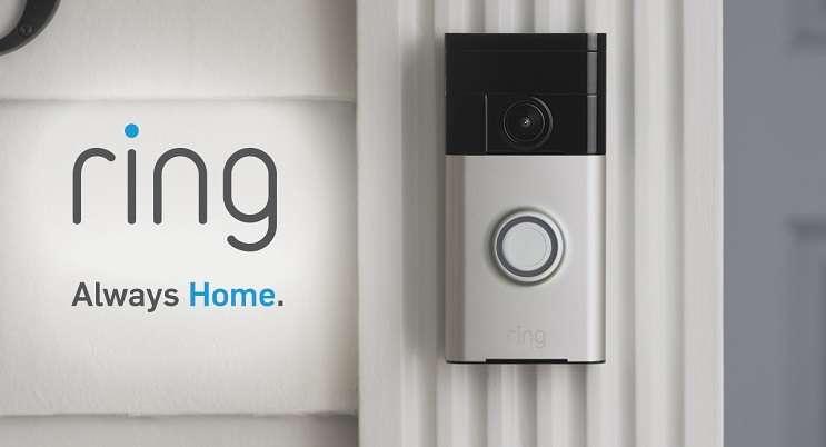 Image:  ring smart doorbell, ring.com