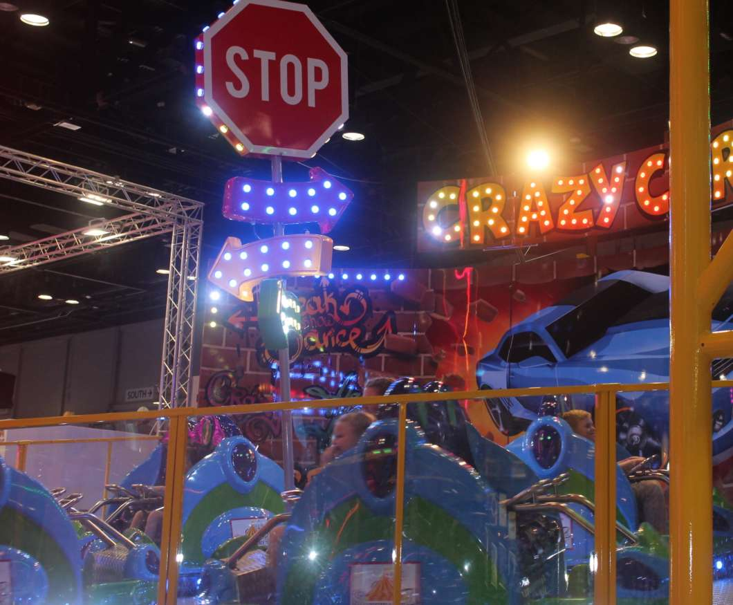Just one of the many attractions at IAAPA 2019. Photo: Danielle Prieur