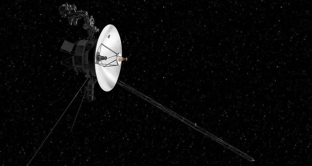 An artist's concept of NASA's Voyager spacecraft. Photo: NASA