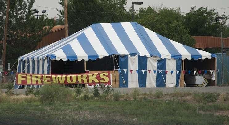 Image: Fireworks tent sales, Adobe Stock via Orlandoweekly.com