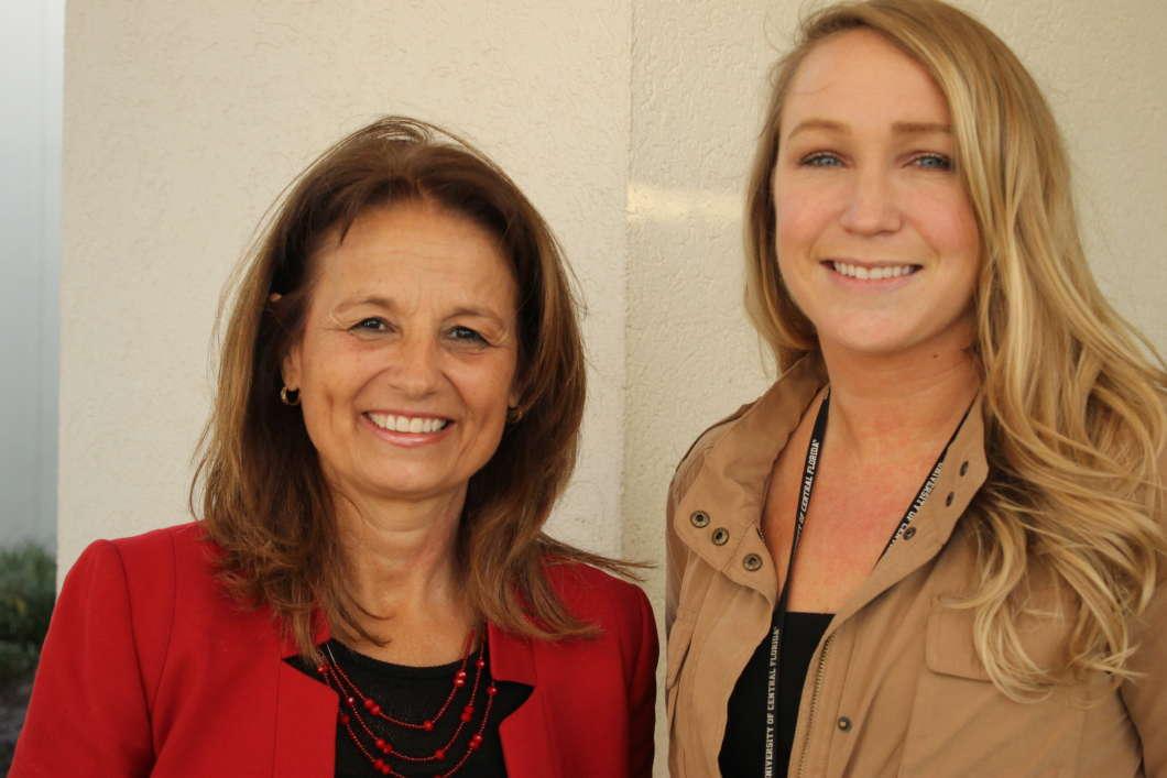 LIsa Dieker and Jessica Granahan.