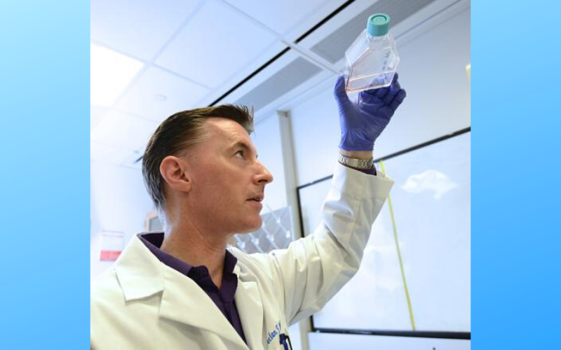 UC Riverside's Dr. Declan McCole studied the effects of microgravity on the gut. Photo: UC Riverside
