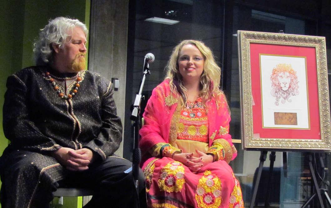 Randall Smith (l) and Chelsea Smith. Photo: Jenny Babcock, WMFE