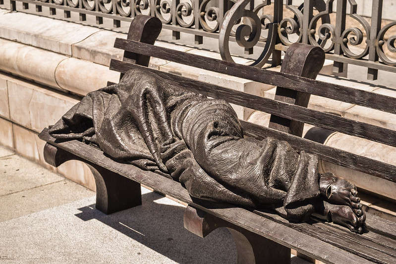 Homeless numbers have been down the past five years in the three counties. Photo: Flickr Creative Commons