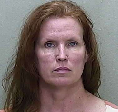 Rebecca Fierle-Santoian was arrested Monday evening on a Hillsborough County warrant for aggravated elder abuse and neglect. Photo: Marion County Jail