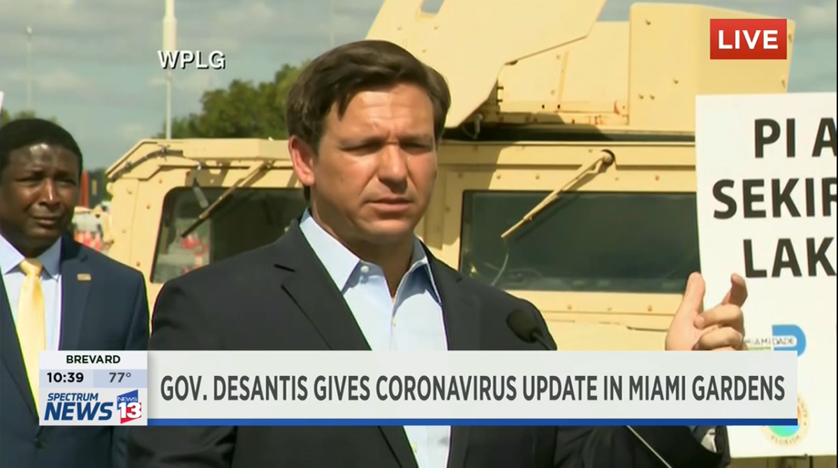 Florida Gov. Ron DeSantis doesn't want a cruise ship where several passengers are suspected of dying from COVID-19 to dock in South Florida.