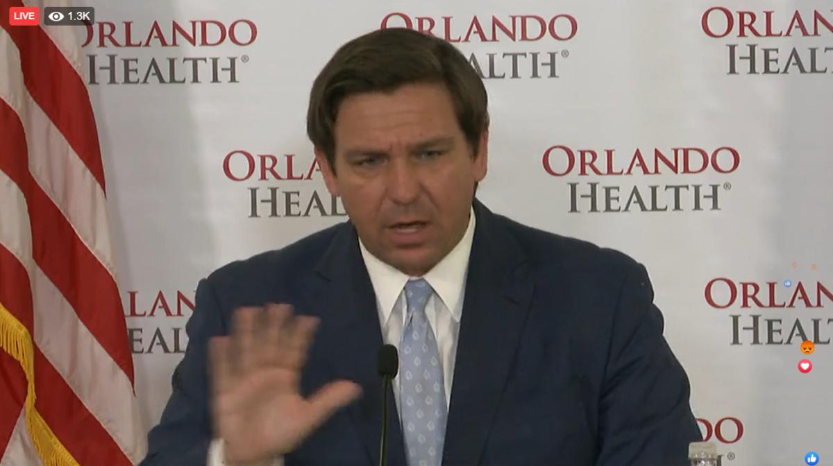 WATCH LIVE: Gov. Ron DeSantis Holds a Coronavirus Round Table In Orlando