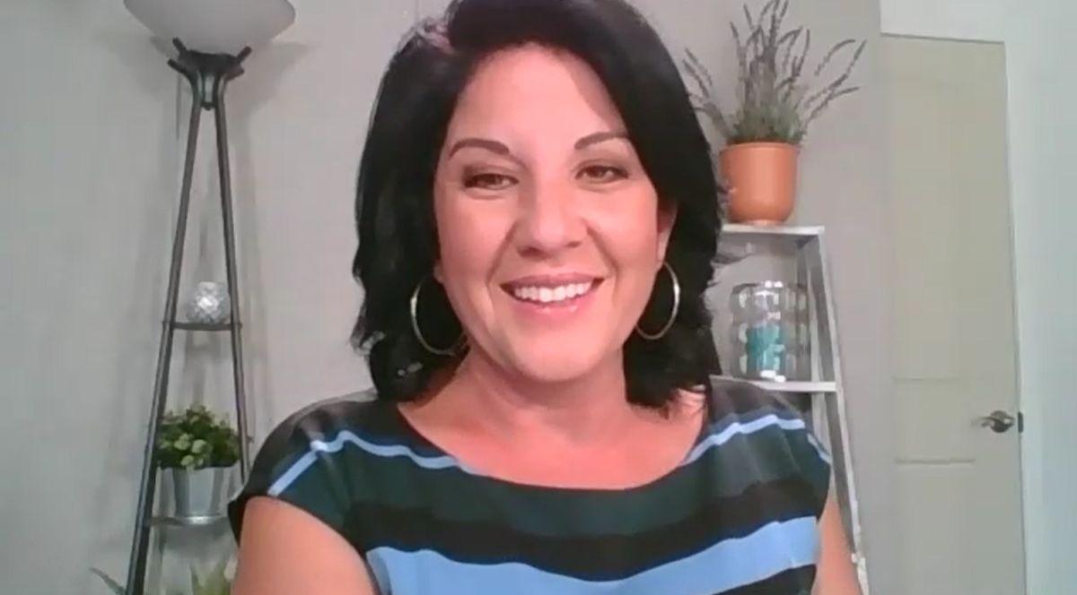 WFTV Channel 9 morning anchor and reporter Nancy Alvarez. Image: screen grab via Zoom.