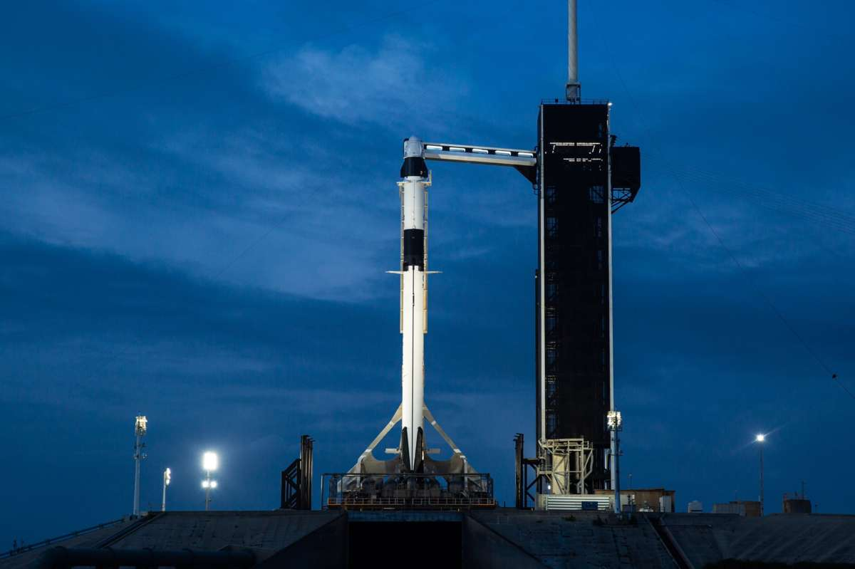 SpaceX's Falcon 9 at LC-39A. Photo: SpaceX