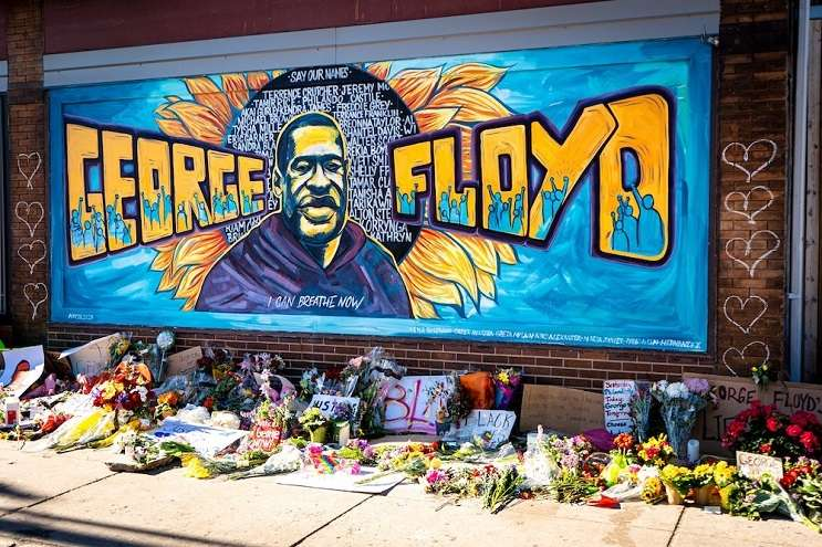 Image: Minneapolis memorial mural to George Floyd – PHOTO VIA MUNSHOTS/UNSPLASH, orlandoweekly.com