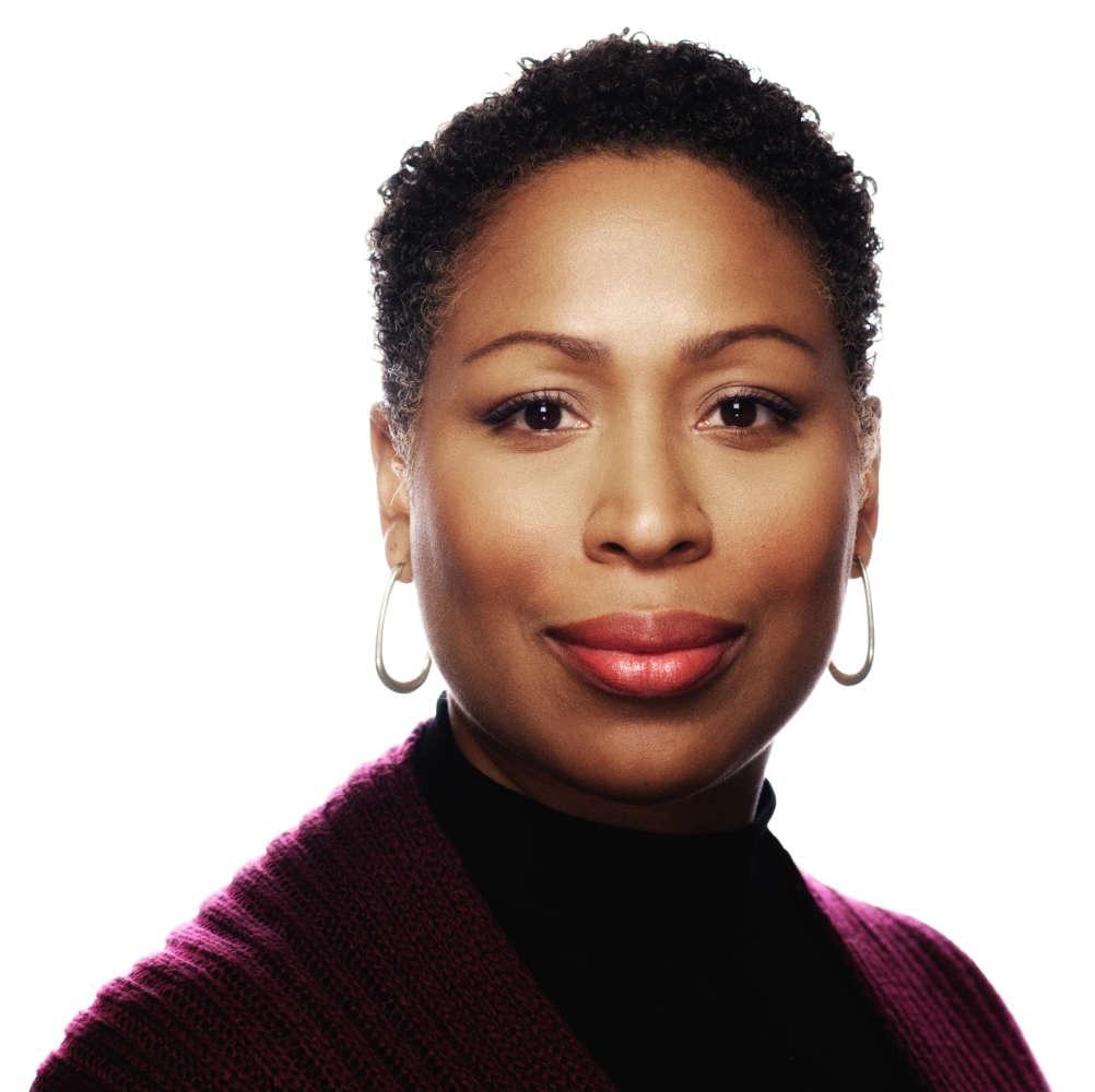 Jenn White is the new host of NPR's 1A. (va NPR)