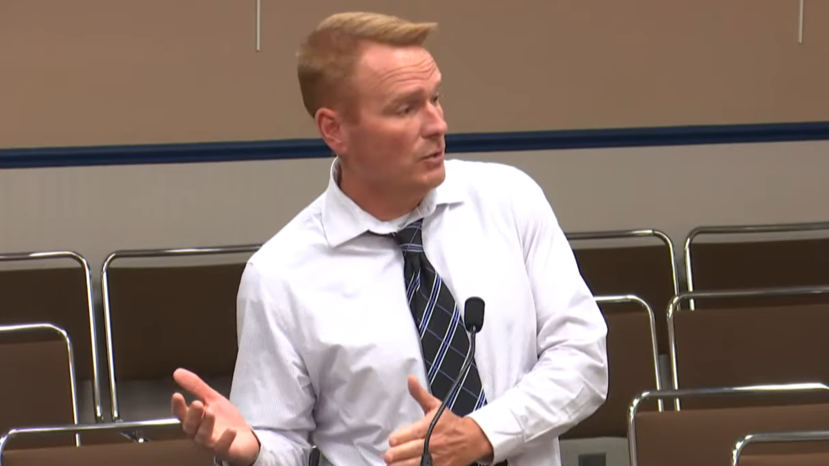 Jonathan Grantham, Marion County School District's former second in command, has resigned. Image: MCPS via YouTube