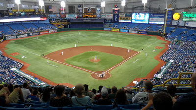 Tampa Bay Rays stadium