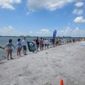 Hands Across the Sand against oil drilling