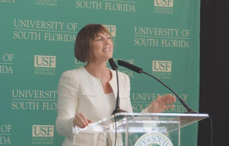 Kathy Castor at USF