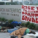 Occupy Tampa at Curtis Hixon.